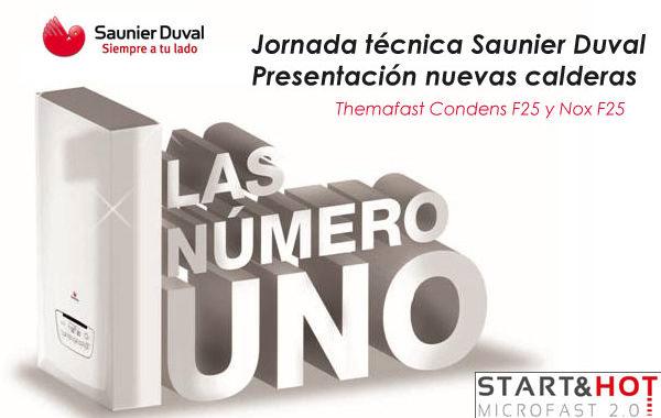 Jornada técnica nuevas calderas Saunier Duval