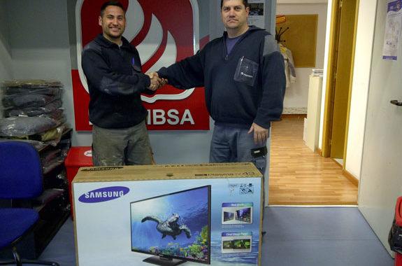 """Entrega TV Samsung 43"""""""